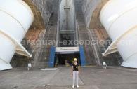 Barrage Itaipu, centrale hydroélectrique du Paraguay