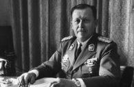 Alfredo Stroessner, président paraguayen