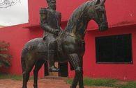 Bernardino Caballero statue, Concepción