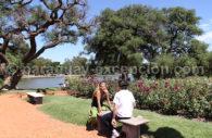 Relaxation dans les jardins de Palermo