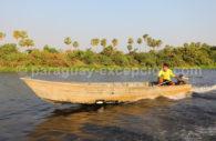 Navigation sur le Rio Negro, Paraguay