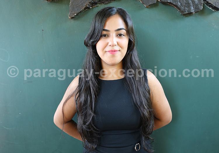 Portrait d'une jeune femme paraguayenne