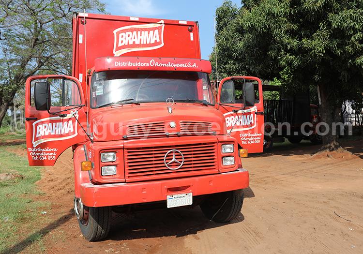 Camion du Paraguay avec Paraguay Excepción