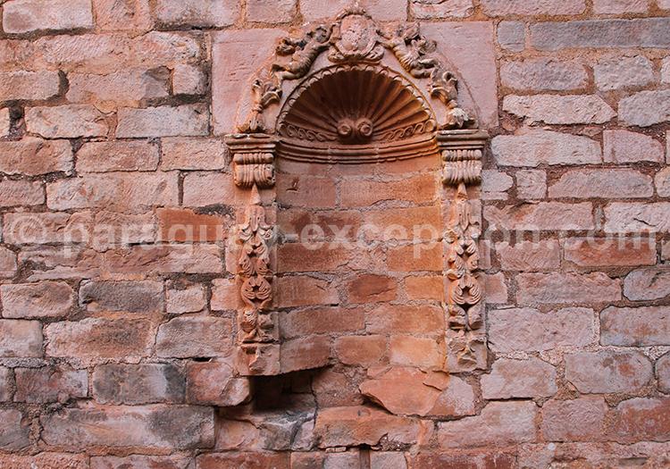 Mur en pierre du Paraguay avec Paraguay Excepción