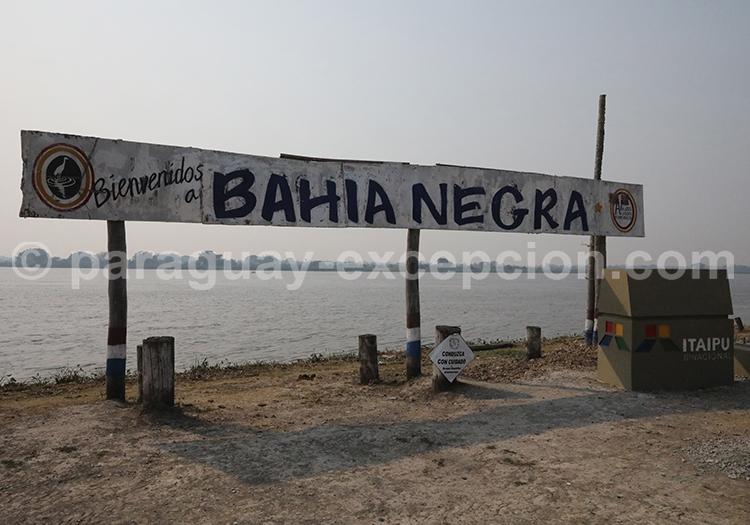 Bahia Negra Chaco rio Paraguay