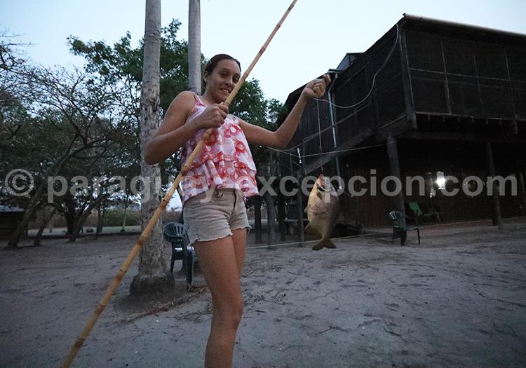 Le dîner à la station Tres Gigantes Pantanal