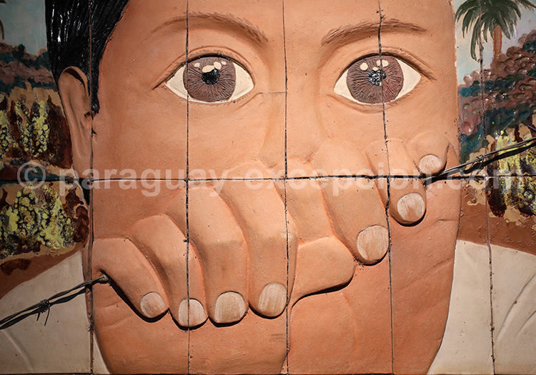 Sculpture au Paraguay