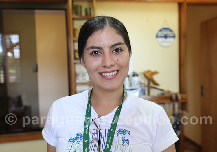 Portrait d'une jeune femme du Paraguay