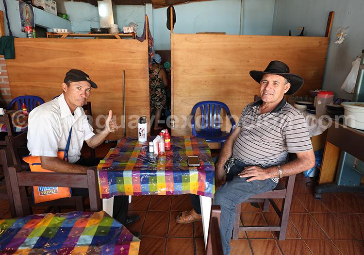 Entre amis au Paraguay