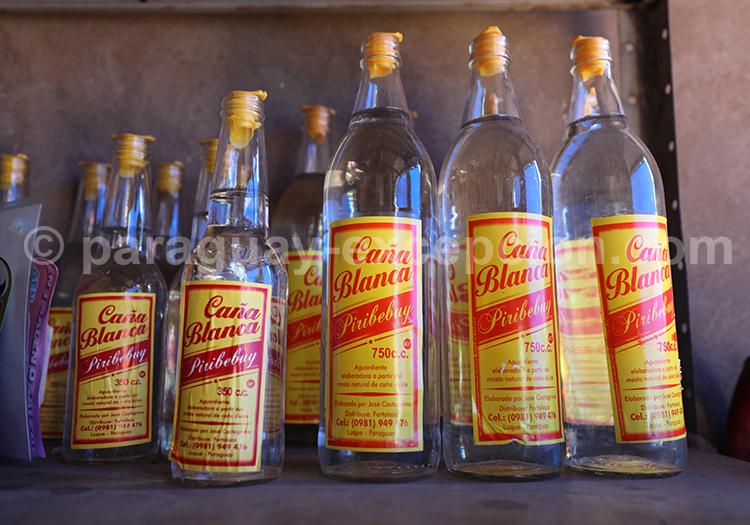 Rhum Caña Blanca, alcool du Paraguay