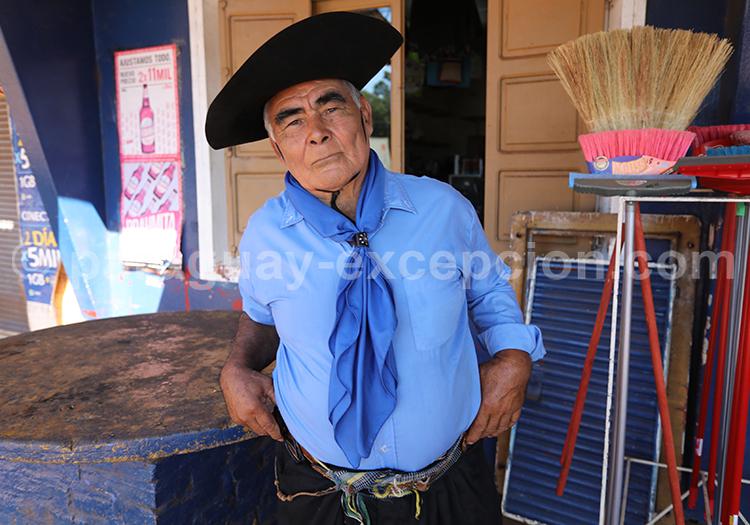 Portrait d'un gaucho du Paraguay