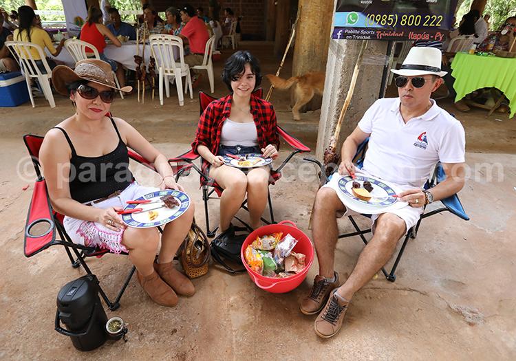 Les rendez-vous entre amis au Paraguay