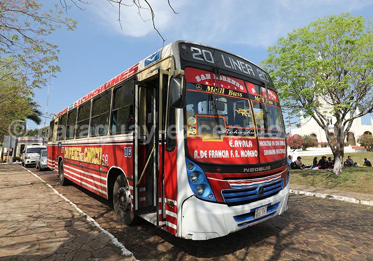 Bus au Paraguay avec Paraguay Excepción