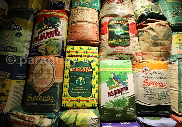 Acheter de l'herbe à maté au Paraguay