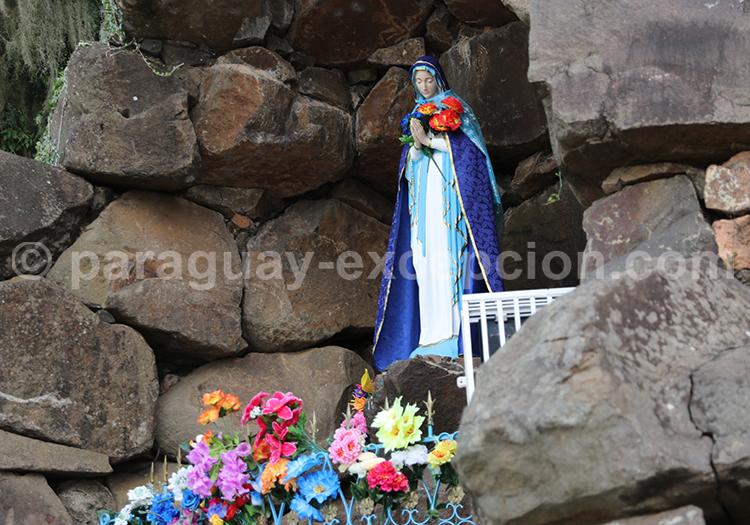 Vierge Itacua, sanctuaire de la ville d'Encarnación