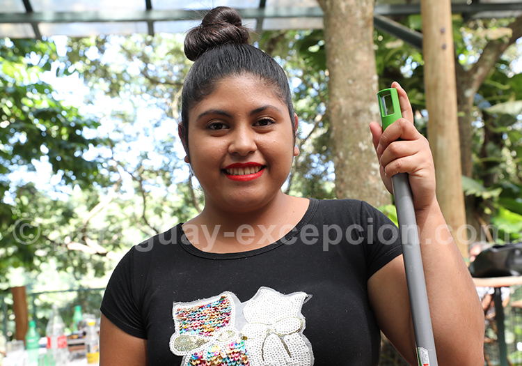 Le sourire d'une Paraguayenne