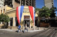 Manger au restaurant Bolsi, Asunción, Paraguay
