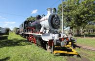 Sapucai, museo ferrocarril, Cordillera, Paraguay