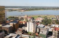 Situation géographique de Asuncion, Paraguay