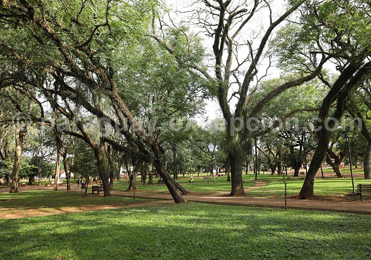 Parc central de la ville de Santa Maria de Fe, Paraguay