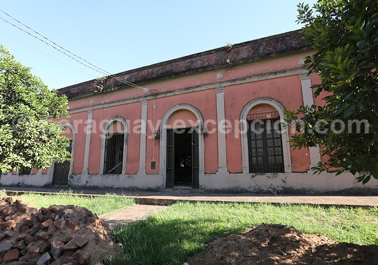 Maison de l'époque coloniale au Paraguay, San Juan Bautista, Yvy