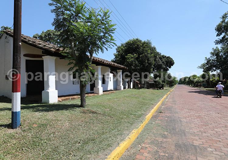 Architecture coloniale de Santa Maria de Fe, Paraguay