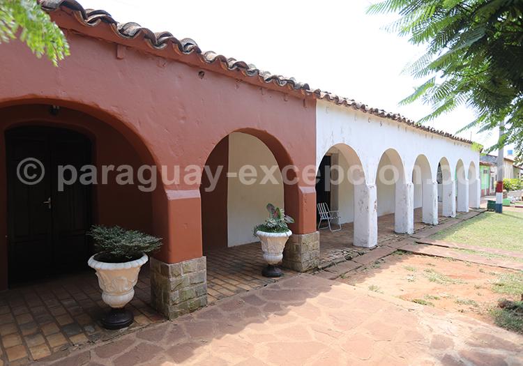 Architecture coloniale dans la région de Misiones au Paraguay, Santa Maria de Fe