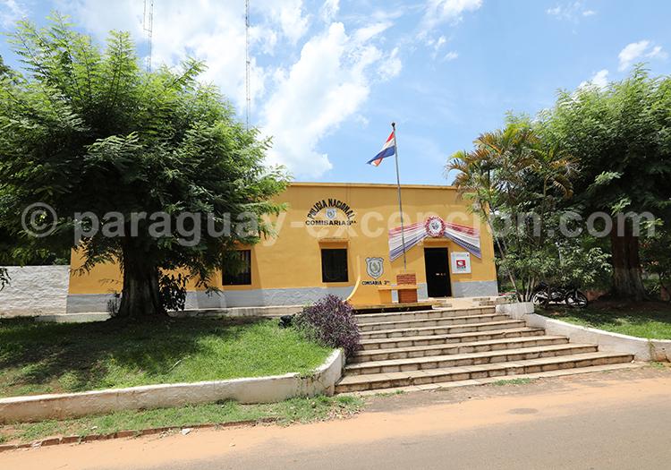 Architecture du village de San Ignacio au Paraguay
