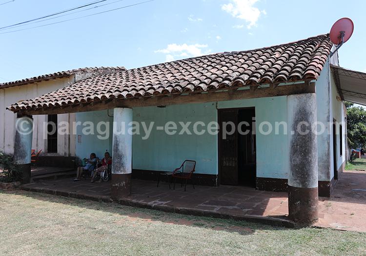 Petite maison typique de la région de Misiones au Paraguay, Santa Maria de fe