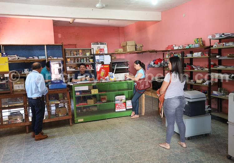 Shopping à Santa Rosa de Lima, Paraguay