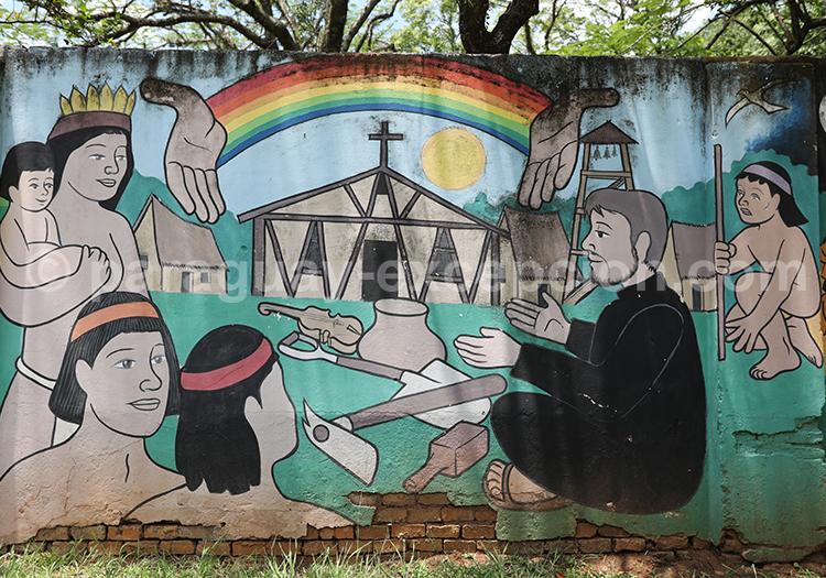 Art jésuite, San Ignacio Guazu, Paraguay