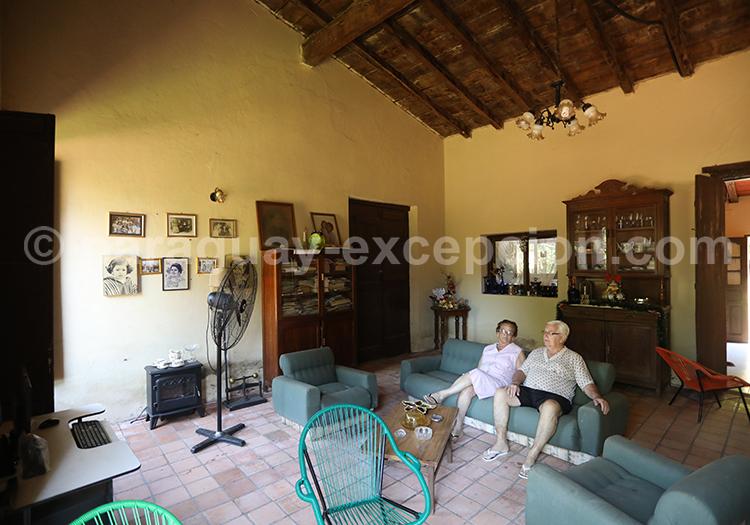 Chez l'habitant, San Juan Bautista, Paraguay
