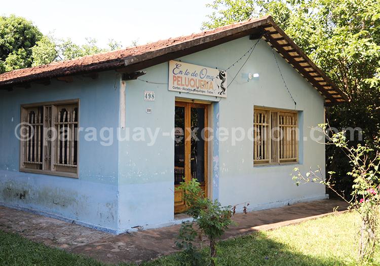 Maison du village jésuite de Santa Rosa de Lima, Paraguay dans la région Yvy
