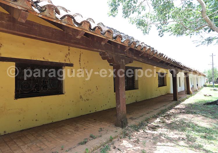 Architecture coloniale de la région Yvy, San Ignacio, Paraguay