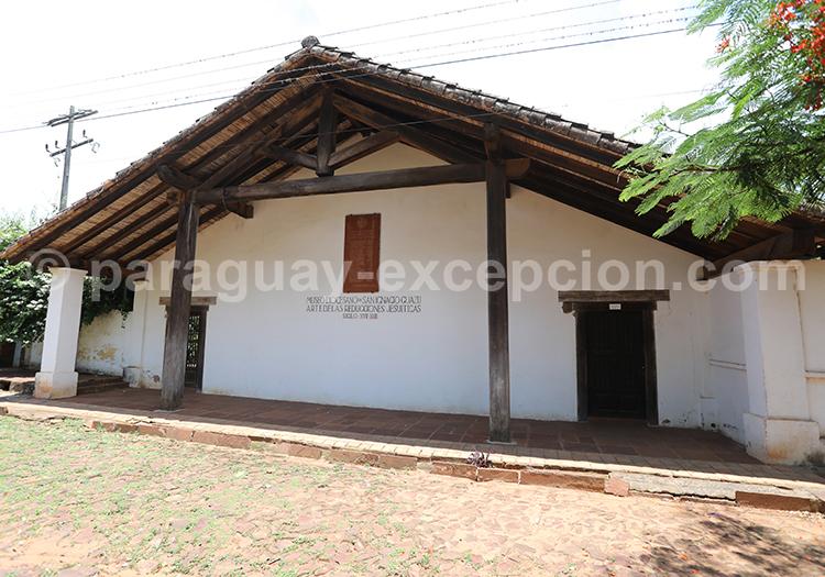 Le musée de San Ignacio Guazu, région Yvy, Paraguay