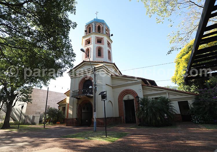 L'église de San Juan Bautista, Paraguay