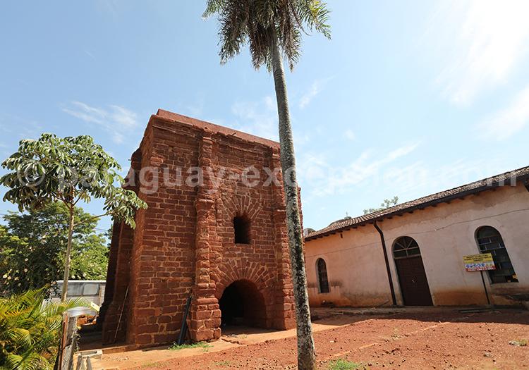 Construction de l'époque des jésuites au Paraguay, Santa Rosa de Lima, Yvy