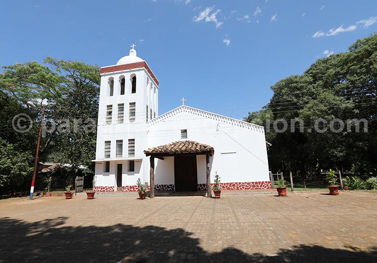 Eglise du village jésuite de Santa Maria de Fe, Paraguay