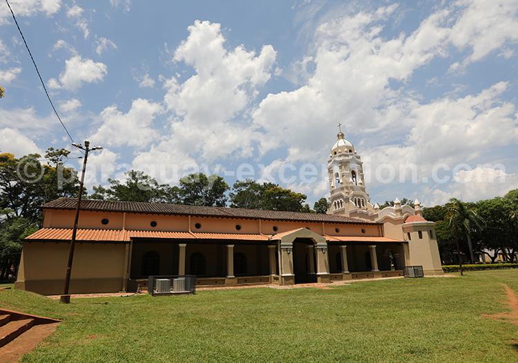 Eglise de San Ignacio Guazu, village jésuite, Paraguay