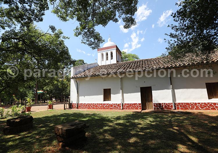 Musée de Santa Maria de Fe, art religieux de l'époque des jésuites, Paraguay