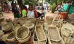 Artisanat du Paraguay et la vannerie