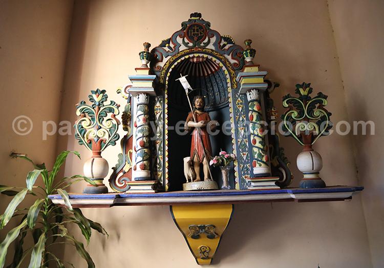 Art religieux de la ville de San Juan Bautista, village jésuite du Paraguay