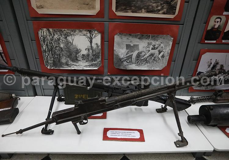 Fusil mitrailleur Brenno 7,65 mm (tchécoslovaque), Guerre du Chaco