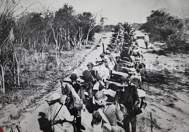 Marche au Combat, Guerre du Chaco