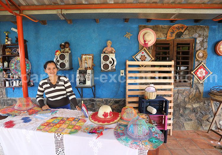 Artisanat du Paraguay, les tissus, Ñanduti