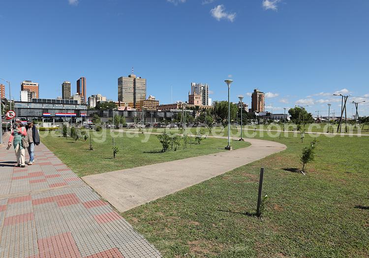 Costanera d'Asunción du Paraguay