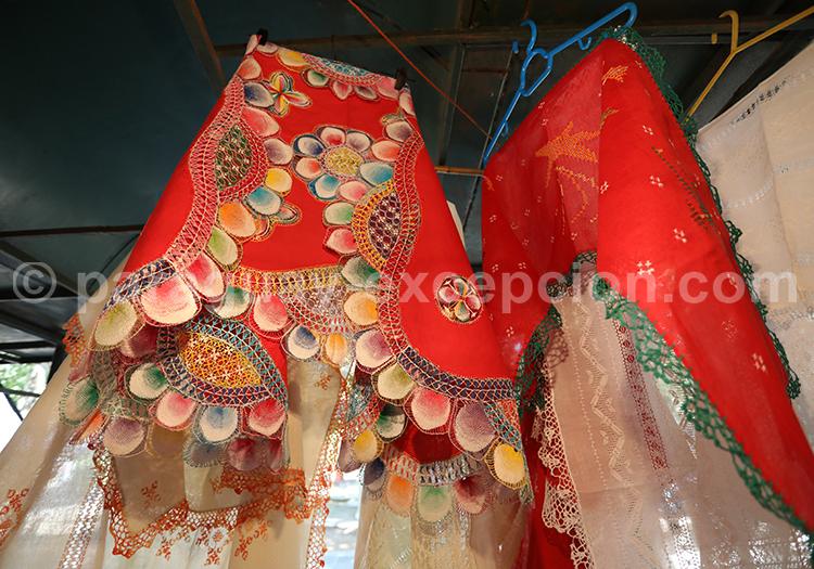 Les tissus Ñanduti, conception paraguayenne