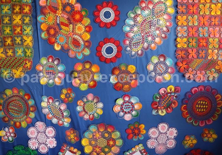 Ñanduti, célèbre tissu du Paraguay