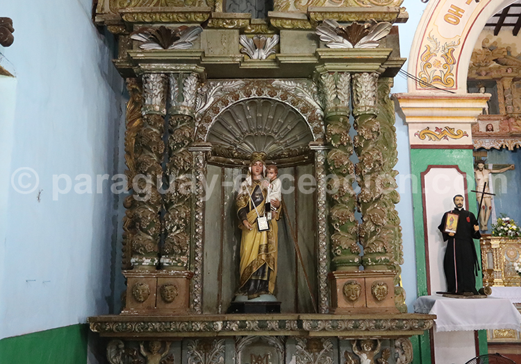Art religieux, Piribebuy, Paraguay