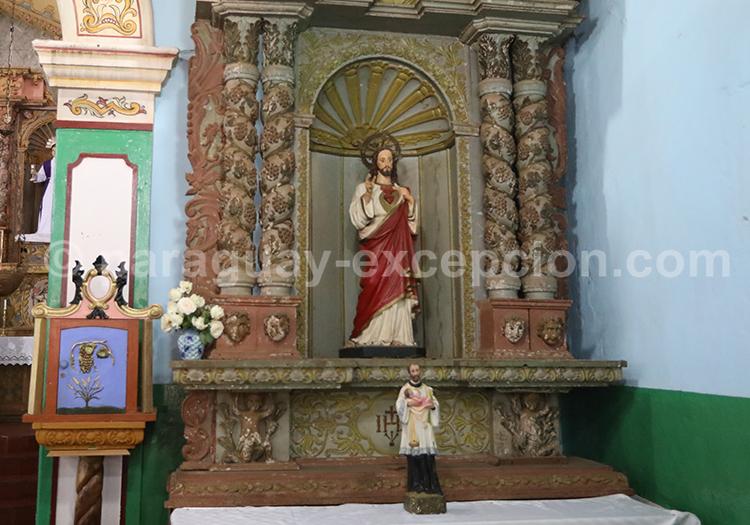 Objet religieux, Piribebuy, Cordillera Paraguay
